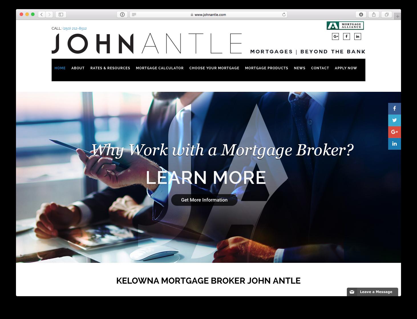 Hiilite   Marketing, SEO, Branding, Web & Graphic Design john-antle-website