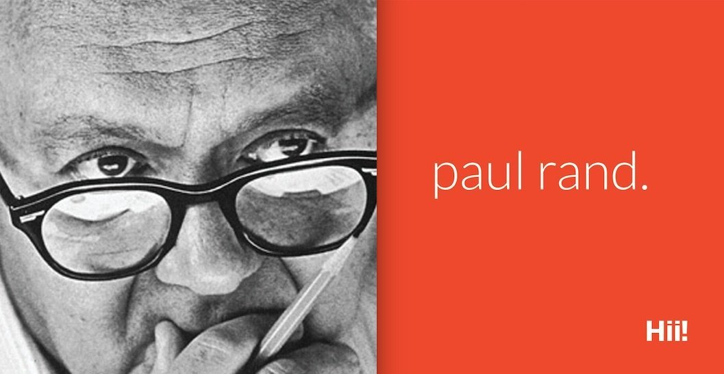 Read more on Drawing Inspiration from Paul Rand