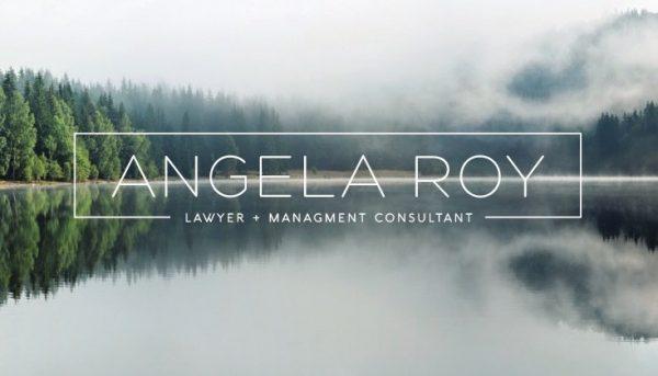 Angela Roy Branding Consultation Marketing Graphic Design Business Cards