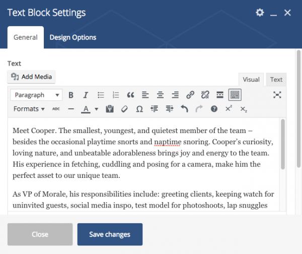 Hiilite Marketing Website Design Kelowna Visual Composer Text Block