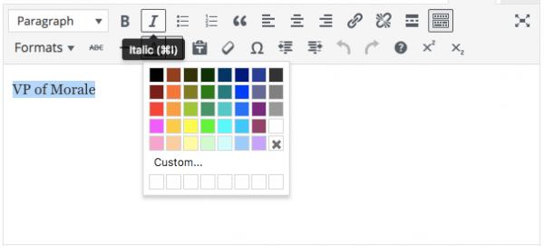 Hiilite Marketing Website Design Kelowna Visual Composer Text Color
