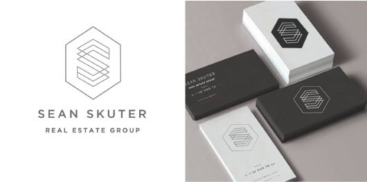 Hiilite Web, Marketing & Design | Sean Skuter Real Estate logo and business cards