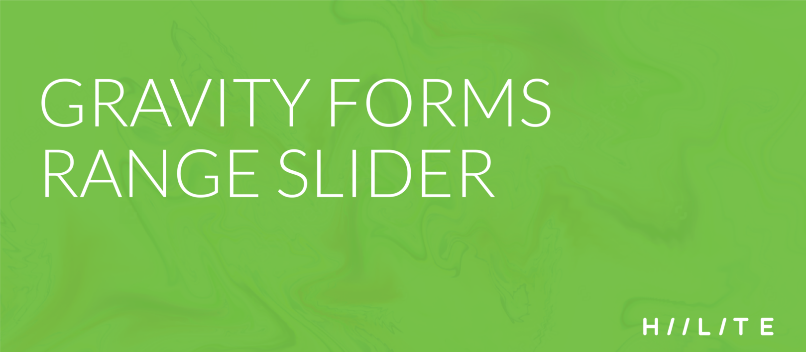 Gravity Forms Range Slider - 1