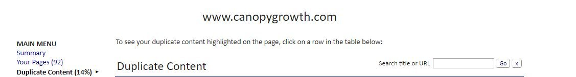 calgary seo marketing services duplicate content cannabis marketing agency