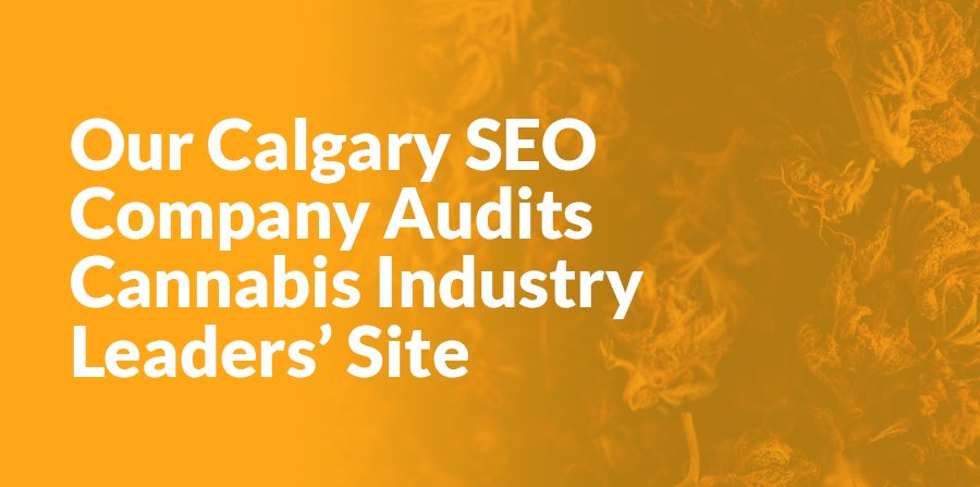 Read more on Our Calgary SEO Company Audits Cannabis Industry Leaders' Site