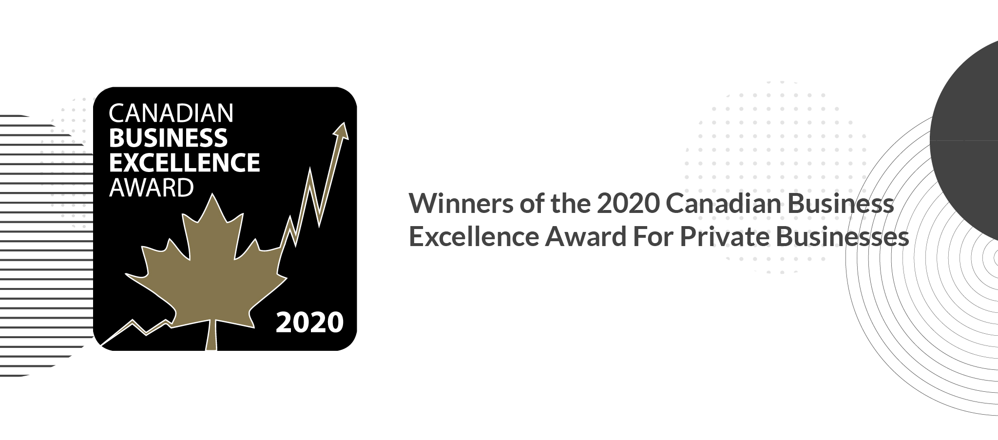 Hiilite wins 2019 Canadian Business Excellence Award