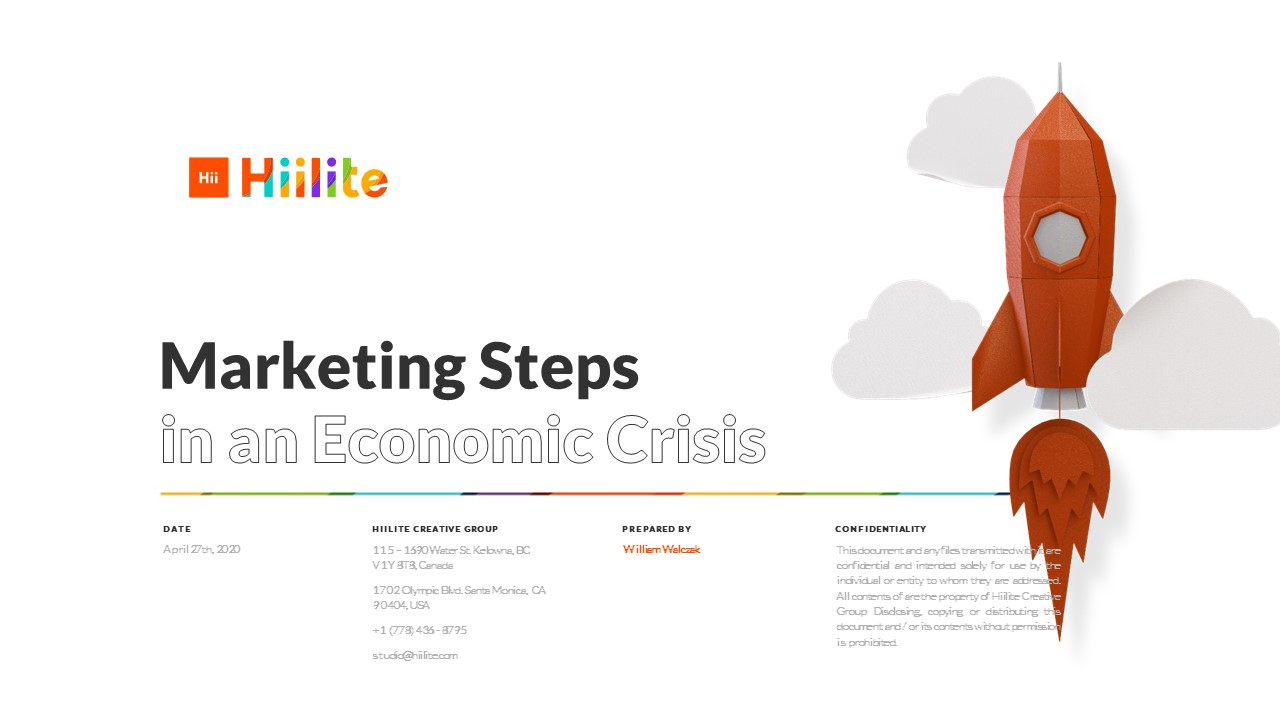 Marketing Steps in an Economic Crisis