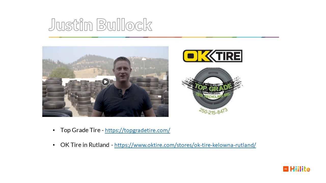 2020 Local Marketing Strategy Top Grade Tire and OK Tire Justin Bullock