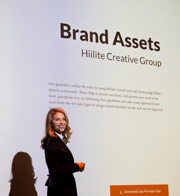 Tina Walczak branding presentation