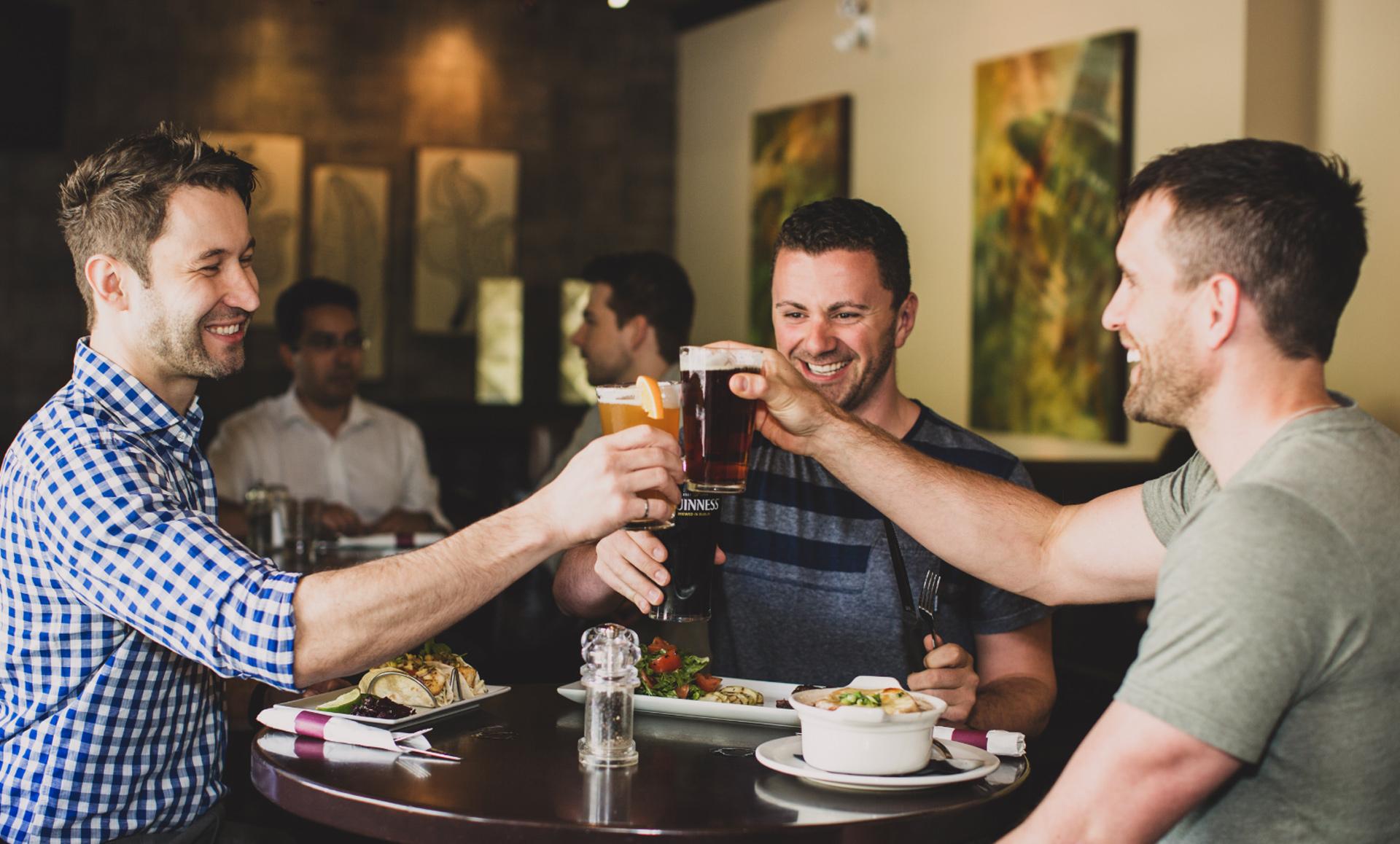 restaurant marketing cheers at brandts creek