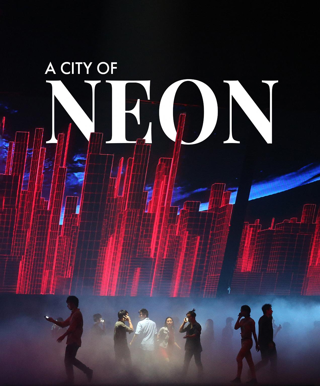 live entertainment marketing a city of neon promo