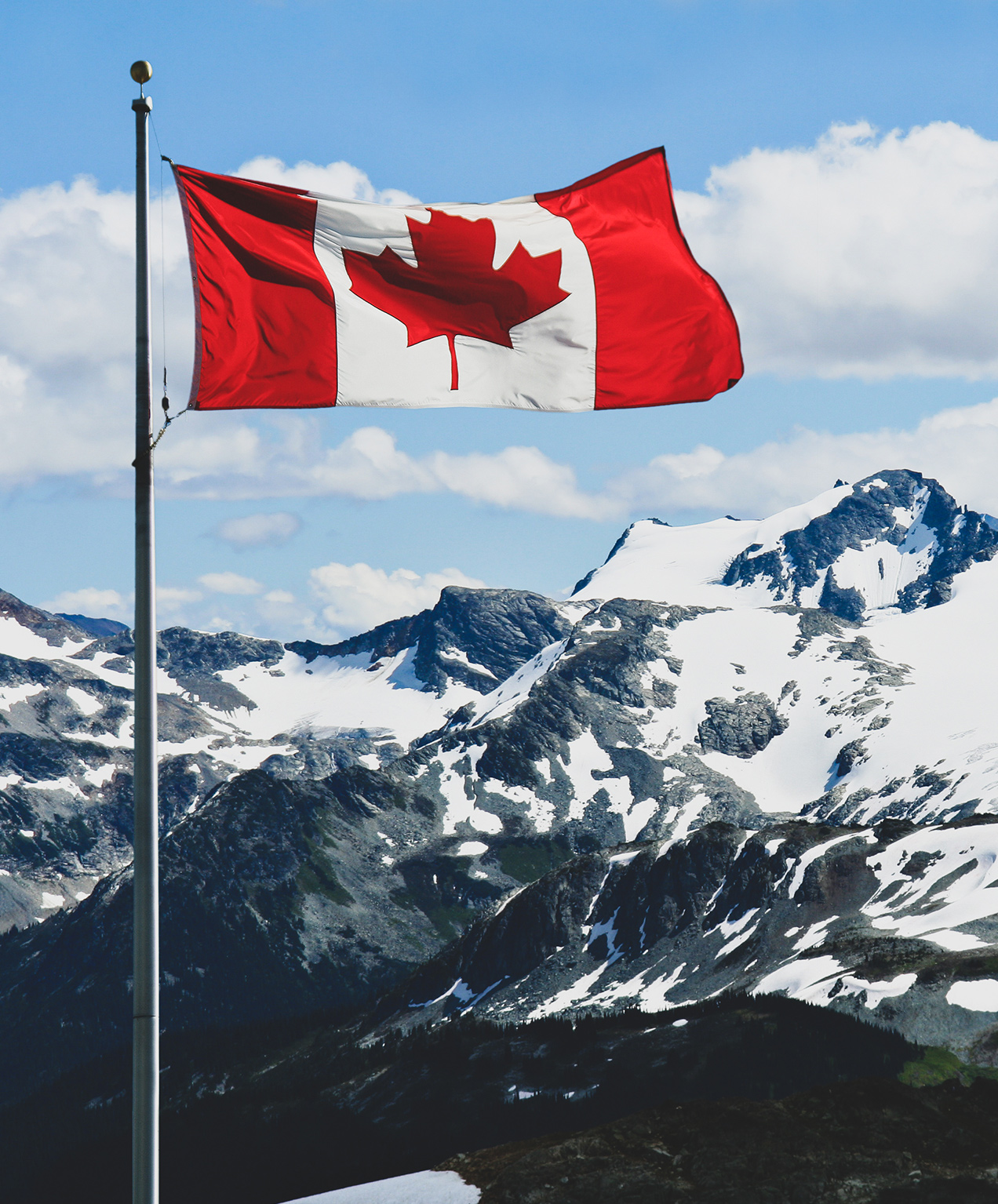 tourism and hotel marketing canadian flag