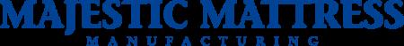 furniture store marketing majestic mattress logo