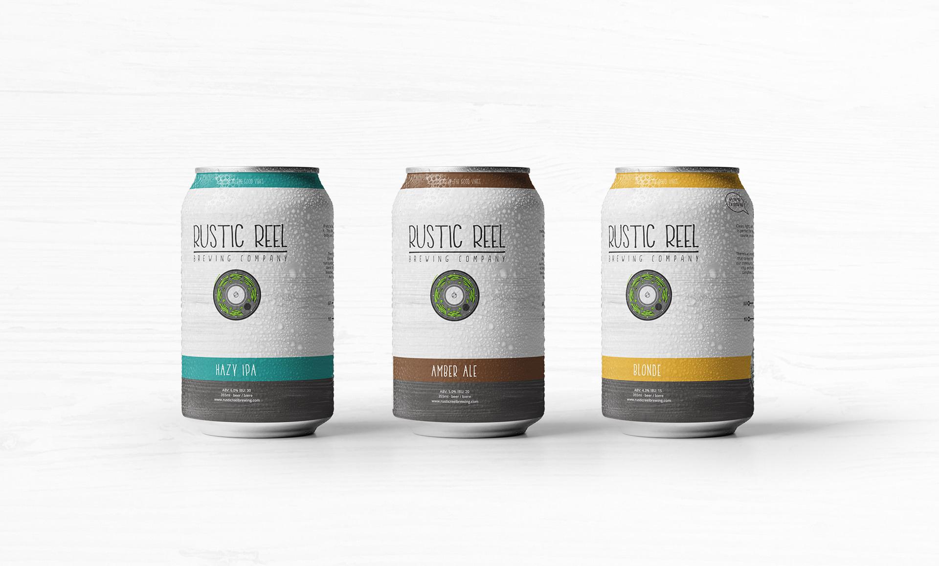 kelowna brewery marketing can packaging designs