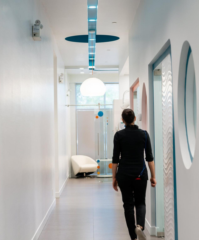 dental marketing true dental office hallway